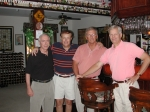 Terry Blake '63', Gary G, Denny B and Bill R